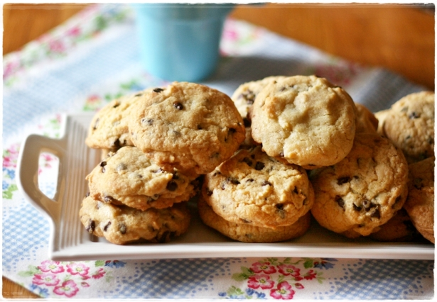 Choc chip cookies6