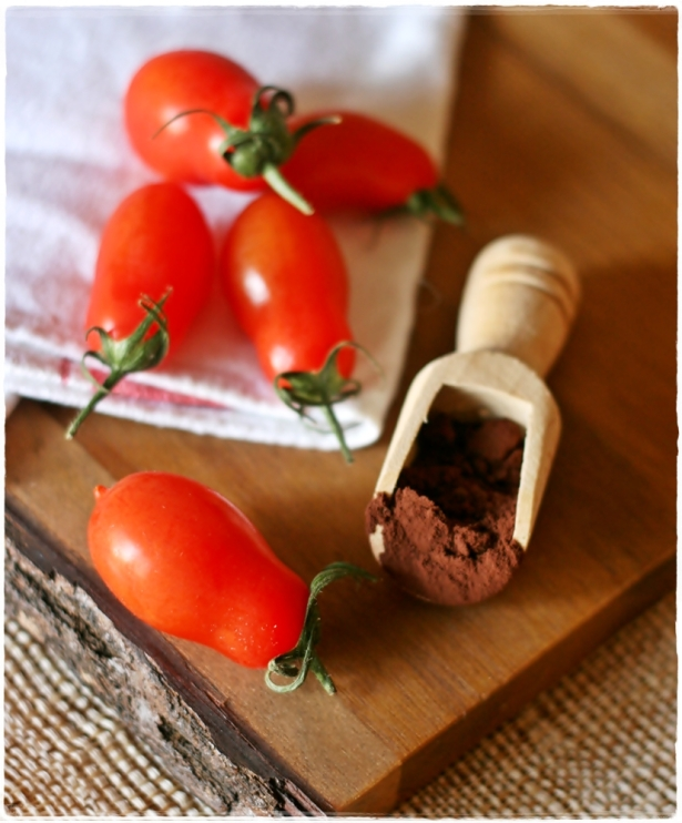 pomodorini e cacao