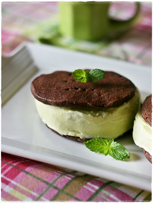 Biscotti gelato ciocco-menta4