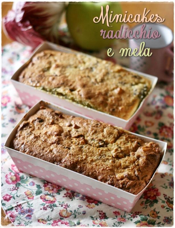 Mini cakes radicchio e mele3