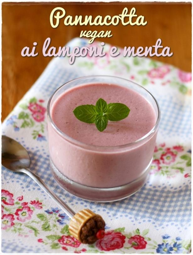 pannacotta vegan lamponi e menta6
