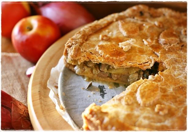 Pie di fegato e mele