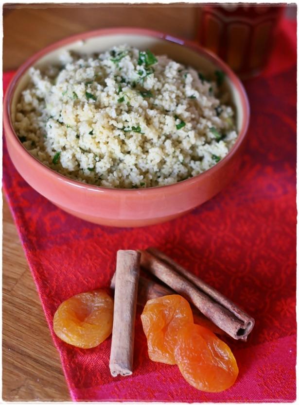 Tagine pollo e albicocche - couscous