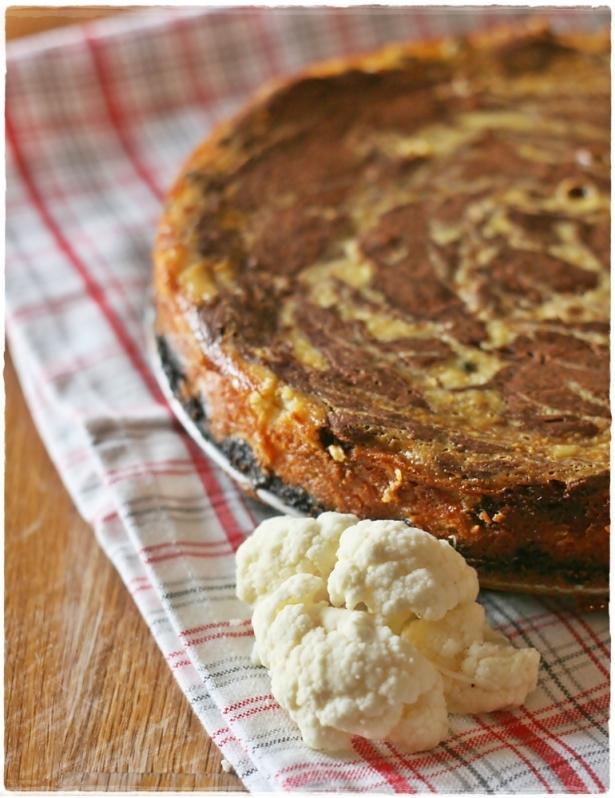cheesecake cavolfiore e cioccolato2