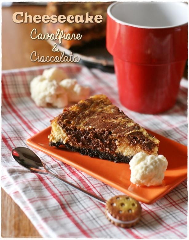 cheesecake cavolfiore e cioccolato3
