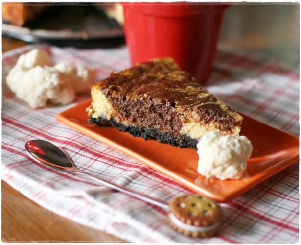 cheesecake cavolfiore e cioccolato4