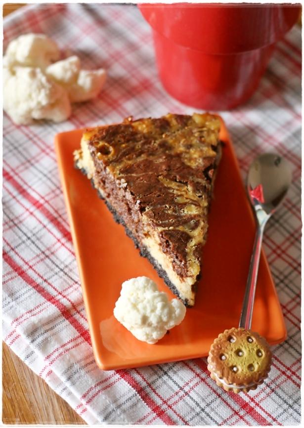 cheesecake cavolfiore e cioccolato5