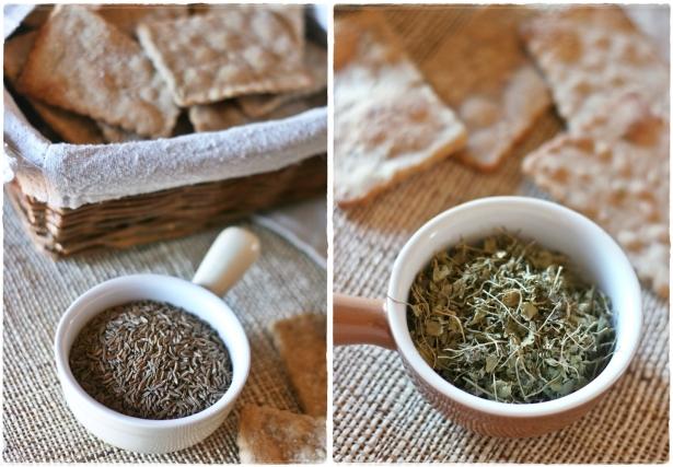 Crackers di segale con semi di carvi e trigonella5-horz