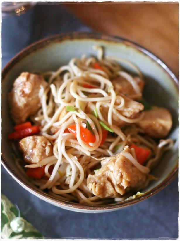 Pollo Chow Mein3