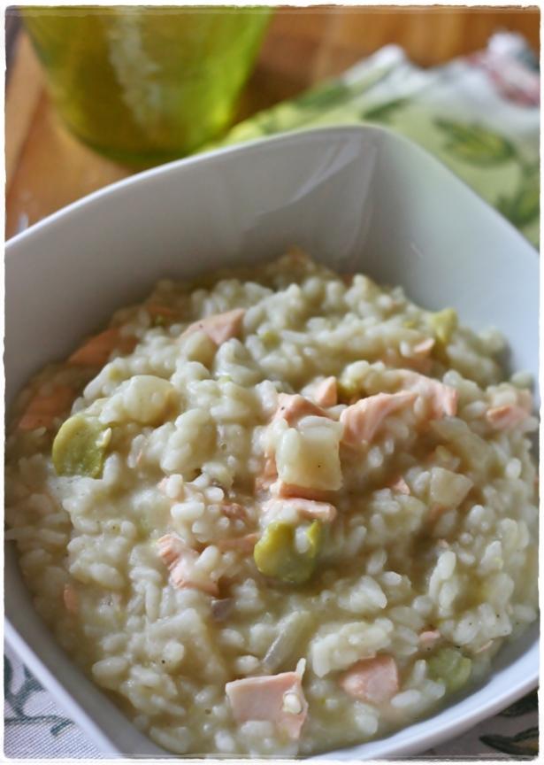 risotto-finocchi-fave-salmone