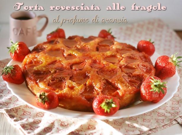 Torta rovesciata fragole3