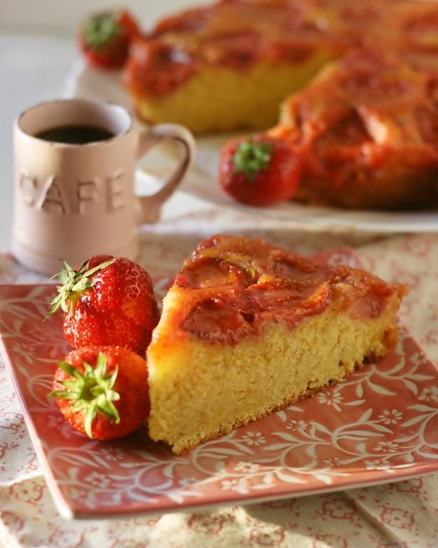 Torta rovesciata fragole5