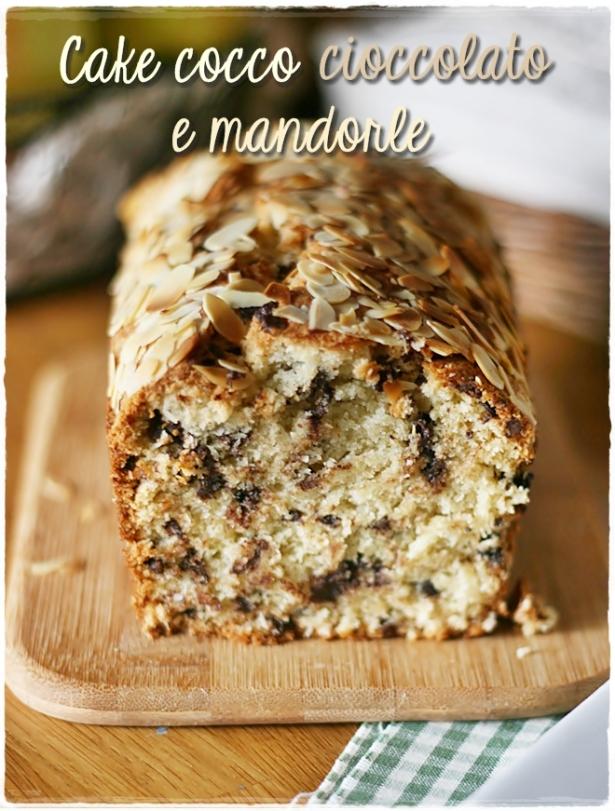Cake cocco ciocco mandorle 4